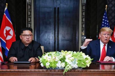 Trump habló del considerable arsenal del líder norcoreano
