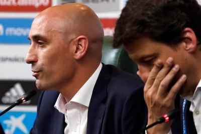 A dos días de debutar en el Mundial, España cambió de entrenador
