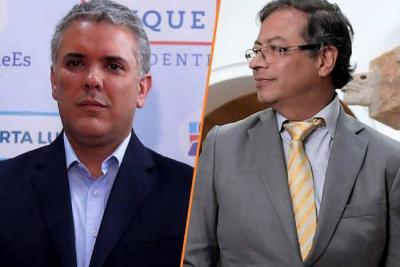"""""""A Duque le dio un inmenso temor debatir"""": Gustavo Petro"""