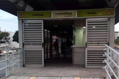 Habilitaron nuevo acceso a la estación Provenza de Metrolínea