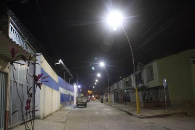 Guaduales estrenó nuevo alumbrado
