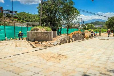 Parque Lineal Bomberos quedará listo en dos meses