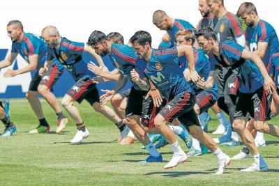 España, contra Ronaldo y la crisis en el Mundial de Rusia 2018