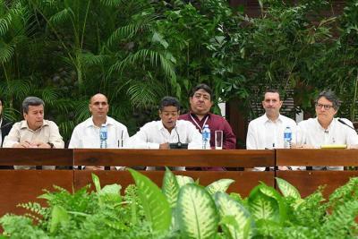 Sin cese al fuego bilateral, culminó quinto ciclo de diálogos con el Eln