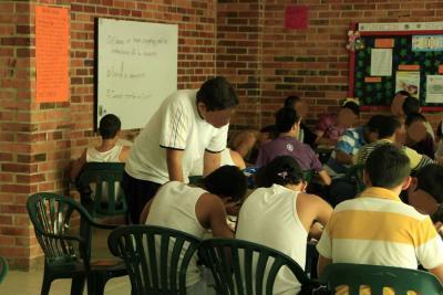 90 adolescentes en detención reciben  formación para culminar el bachillerato