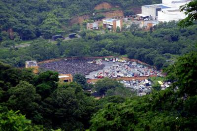 Adelantan proceso de 'chatarrización' de 1.400 motos, abandonadas en Tránsito