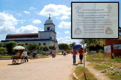 En panfletos invitan al sepelio de cinco concejales de Puerto Wilches