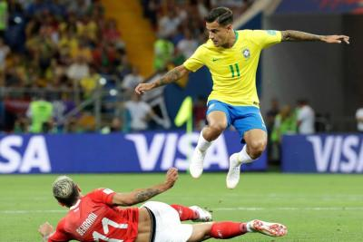 Otra sorpresa: Brasil empató 1-1 con Suiza