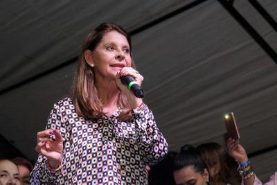 Marta Lucía Ramírez, la primera mujer vicepresidenta en Colombia