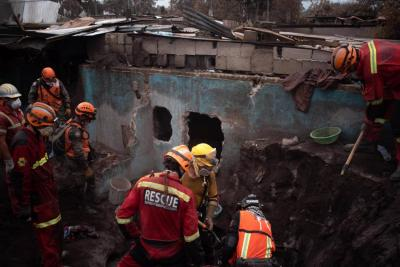 Concluyeron labores de búsqueda en el volcán de Guatemala tras dos semanas