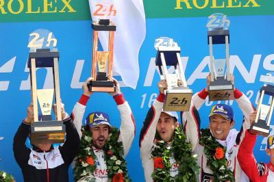 Toyota se quedó con el triunfo en las 24 Horas de Le Mans
