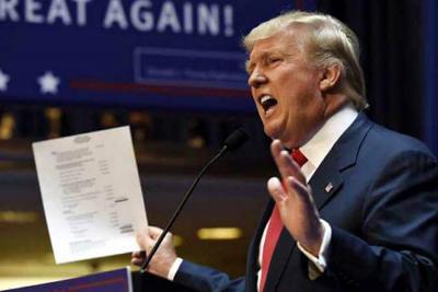 """""""EE.UU. no será un campo de inmigrantes"""", afirma Donald trump"""