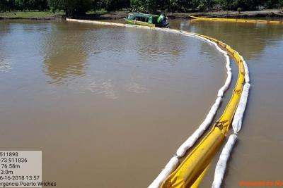 Se Inició reparación de la línea de crudo que generó emergencia en Santander