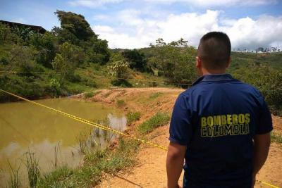Niño de dos años se ahogó luego de caer a una laguna en Santander