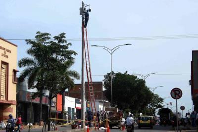 207 sectores de Bucaramanga contarán con más cámaras de seguridad