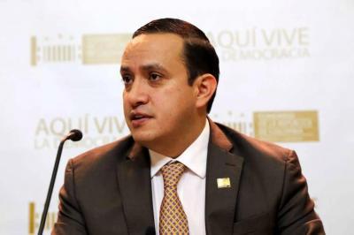 Senador santandereano Mauricio Aguilar presentó su renuncia al Senado