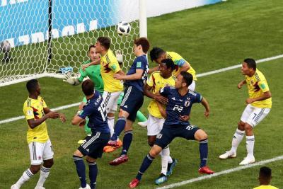 Triste debut de Colombia