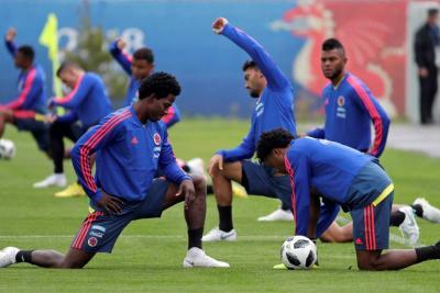 Colombia volvió a entrenamientos pensando en Polonia