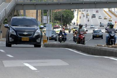 Durante los próximos ocho días habrá cierres en la autopista entre Bucaramanga y Floridablanca