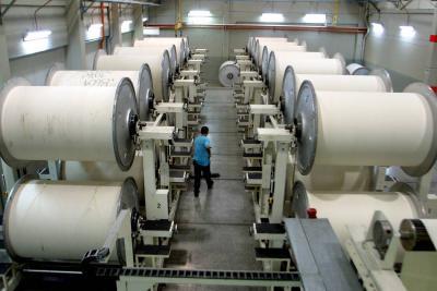 6,4% fue el índice de  producción industrial, en abril