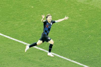 Croacia y Modric a octavos, Argentina y Messi...