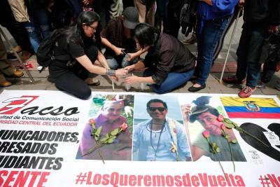 Cuerpos hallados serían de periodistas asesinados