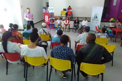 Finalizó reparación formal a 19 familias del sur de Santander