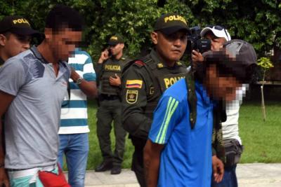 Libres dos sospechosos de lanzar granada que dejó siete heridos en Barrancabermeja