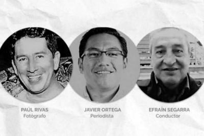 Llegan a Cali familiares de periodistas ecuatorianos asesinados para identificar cuerpos