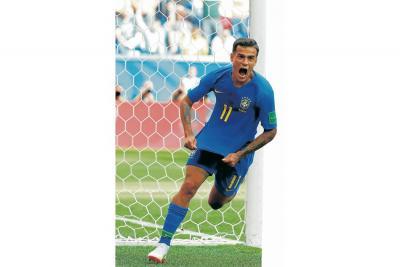 Coutinho Rescató a Brasil