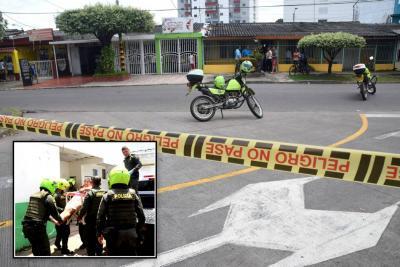 Intento de hurto terminó en balacera que dejó dos heridos en Santander