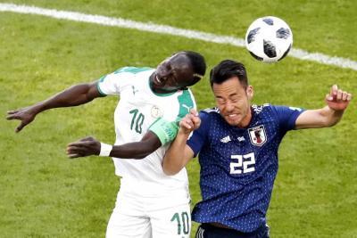 Senegal empató 2-2 con Japón