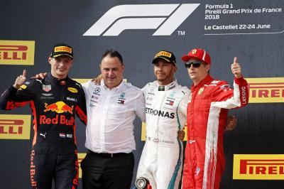 Hamilton ganó en Francia y se acomodó en el liderato