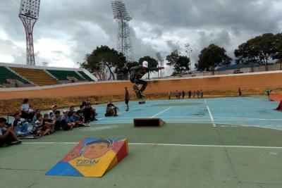 El skateboarding celebró su día en Bucaramanga