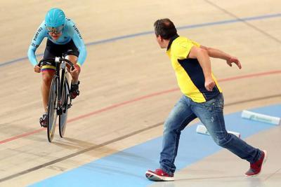 Ciclista santandereana Bayona logró un triunfo histórico para Colombia en Alemania