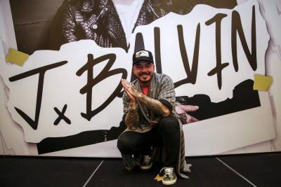 J Balvin se convierte en el artista con más reproducciones en Spotify