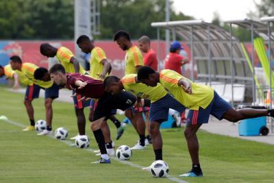 Colombia se entrenó con la mira puesta en Senegal