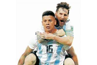 Messi y Rojo obraron el milagro argentino