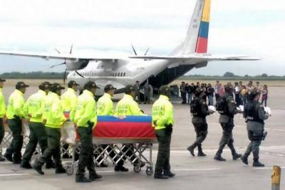 Trasladan a Ecuador los cuerpos de los periodistas asesinados