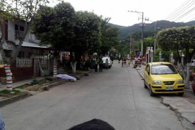 Hombre fue asesinado en el barrio Arenales de Girón