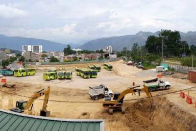 Se inició la construcción del Portal  de Metrolínea en Piedecuesta