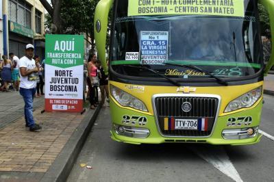 Integración del transporte en Bucaramanga sería solo en agosto de 2019