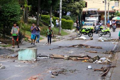 Más de 60 horas cumplió la protesta en Zapamanga II