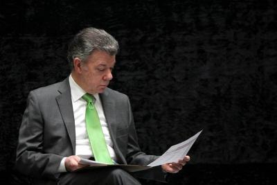 Santos sancionó la ley que establece nuevo mecanismo para elegir Contralor
