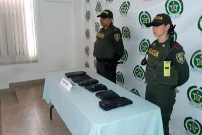 Comunidad alertó para  incautación de marihuana