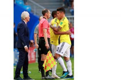 """""""Estoy muy preocupado por James"""": José Pékerman"""