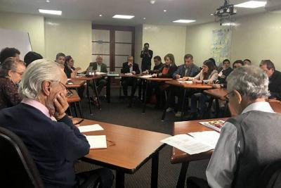 Exjefes de las Farc comparecieron en la Comisión de la Verdad