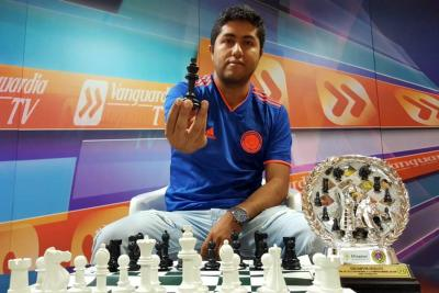Santandereano representará a Colombia en Olimpiada Mundial de ajedrez