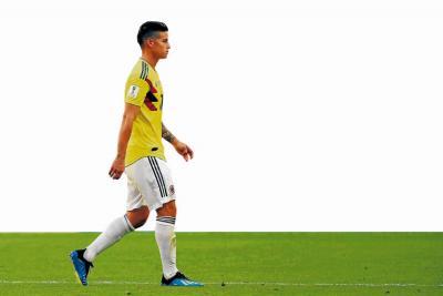 Colombia espera la evolución de James