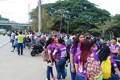 El Sena protestó para denunciar anomalías en cambios directivos